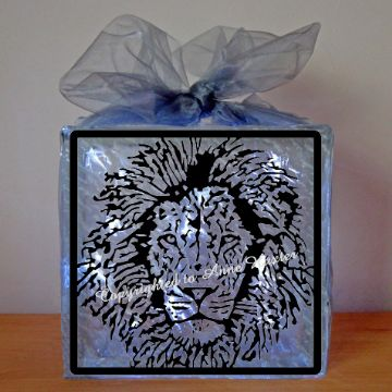 Lion Head Vinyl Design